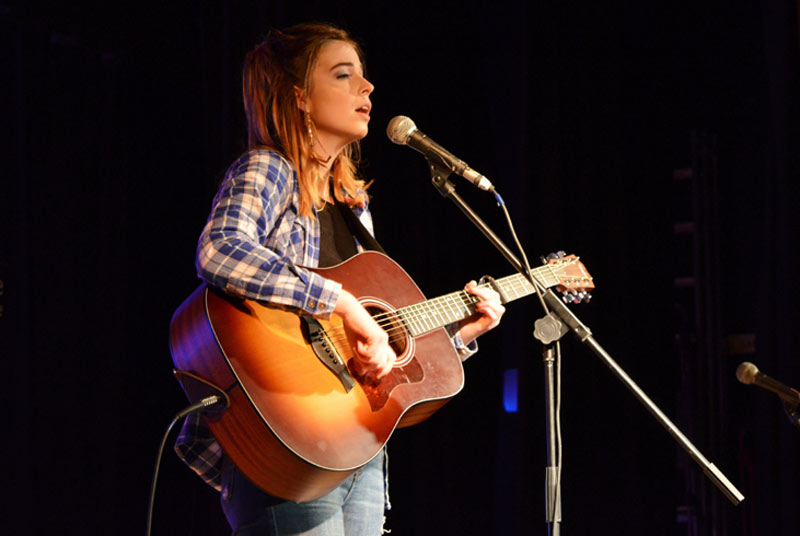 Emma-Jane Toop  at Wimborne Minster Folk Festival