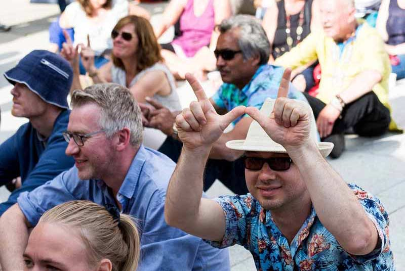 How to Engage an Audience at Wimborne Minster Folk Festival 2016