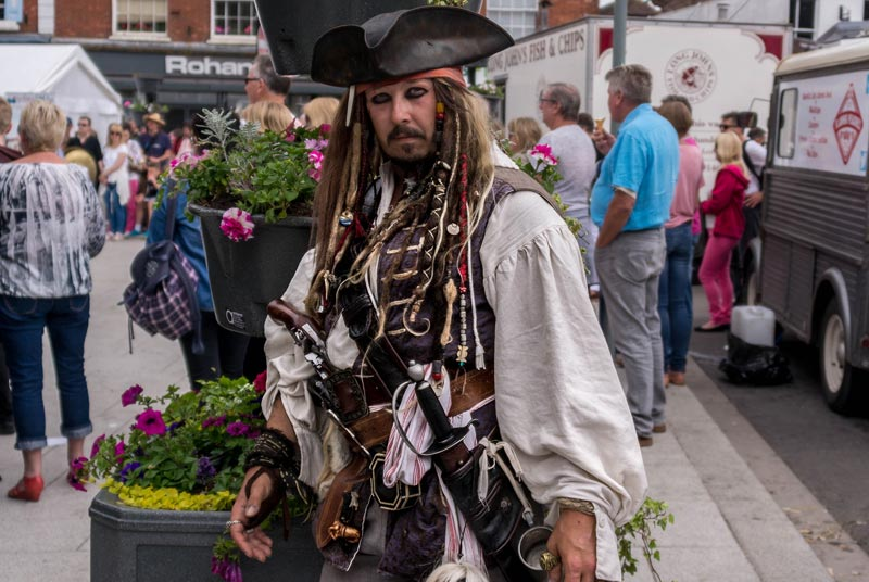 All At Sea - Fancy Dress Competition at Wimborne Minster Folk Festival