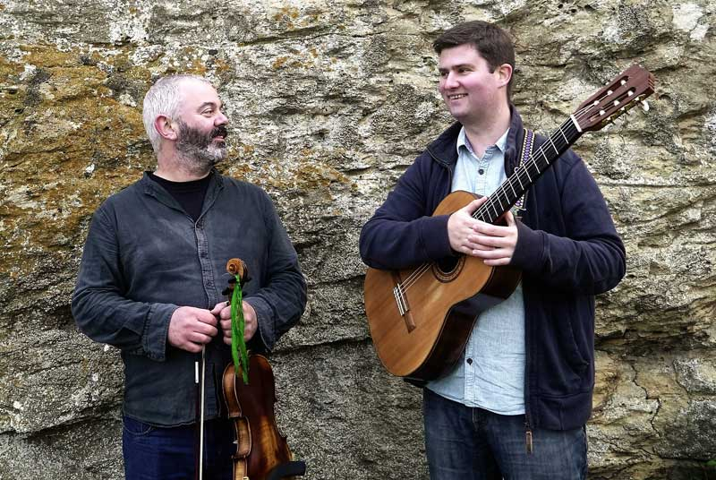 Mitchell and Vincent at Wimborne Minster Folk Festival 2017
