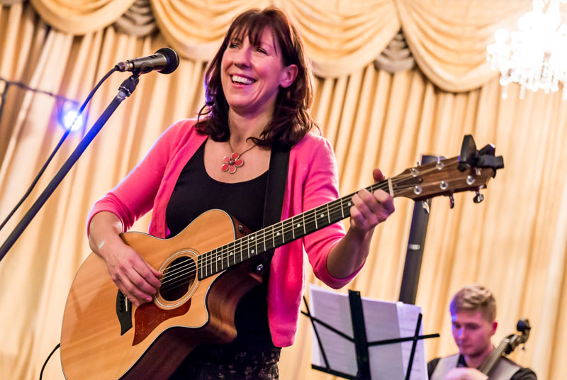 Polly Morris at Wimborne Minster Folk Festival 2017