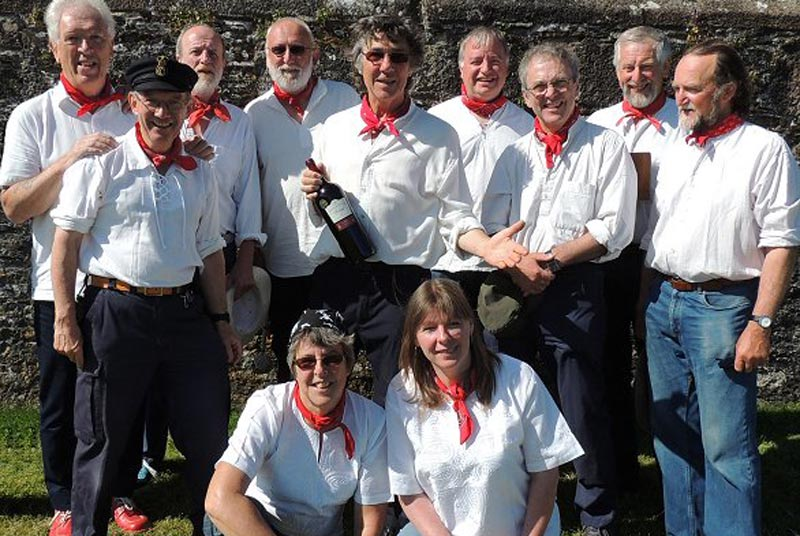 Wareham Whalers at Wimborne Minster Folk Festival 2017